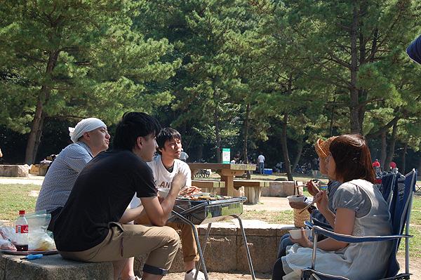 小戸公園BBQ