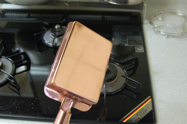 銅製 玉子焼き器