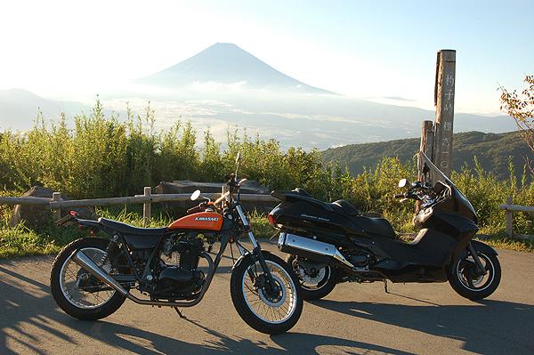 芦ノ湖スカイライン 富士山