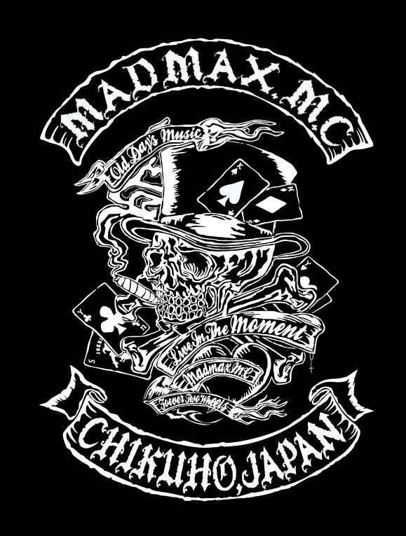 バイクチーム ロゴ MADMAX.MC