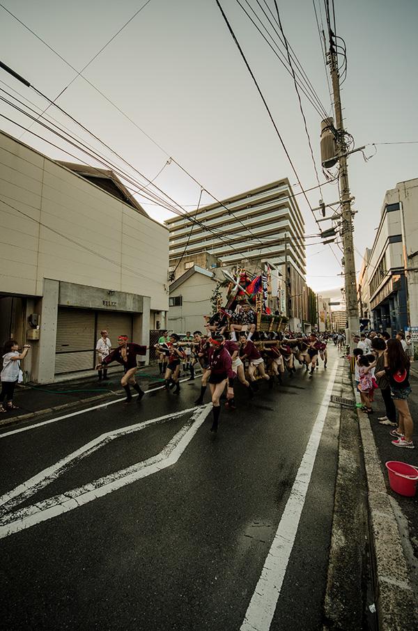 飯塚山笠 吉原町