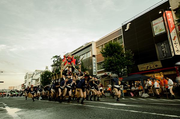 飯塚山笠 飯塚バスセンター
