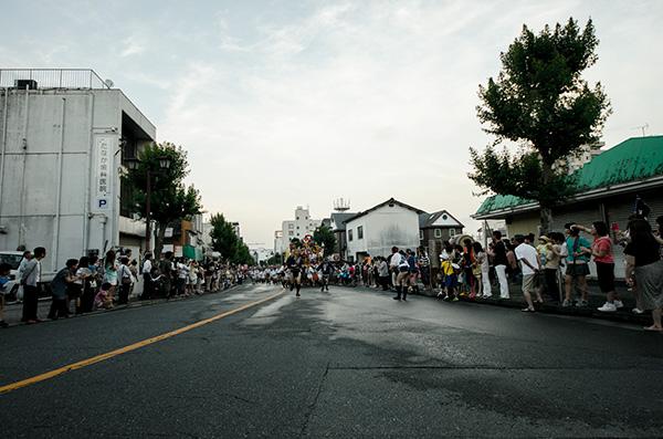 飯塚山笠 ゴール