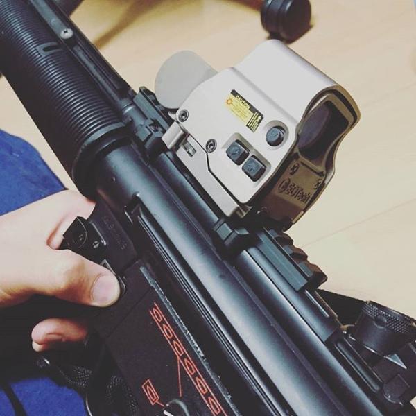 MP5 Low Profile Mount Base(ロープロファイルマウントベース)