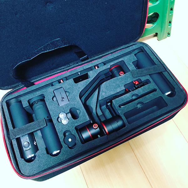 3軸ジンバル Feiyu Tech アルファ2000