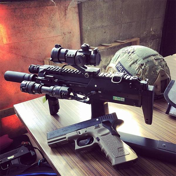 MP7A1震閃電カスタム