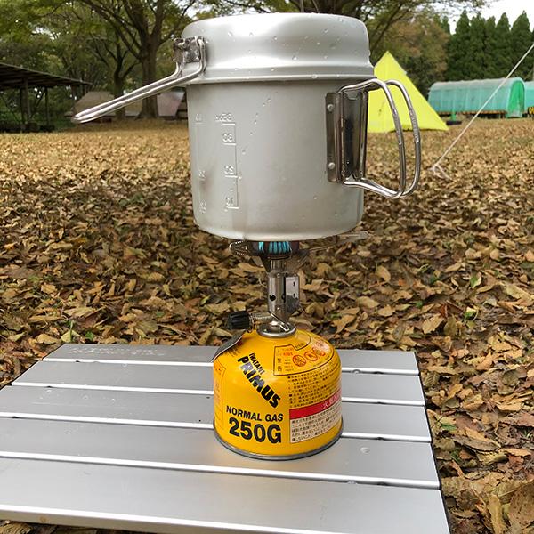 キャンプ用ガスバーナー
