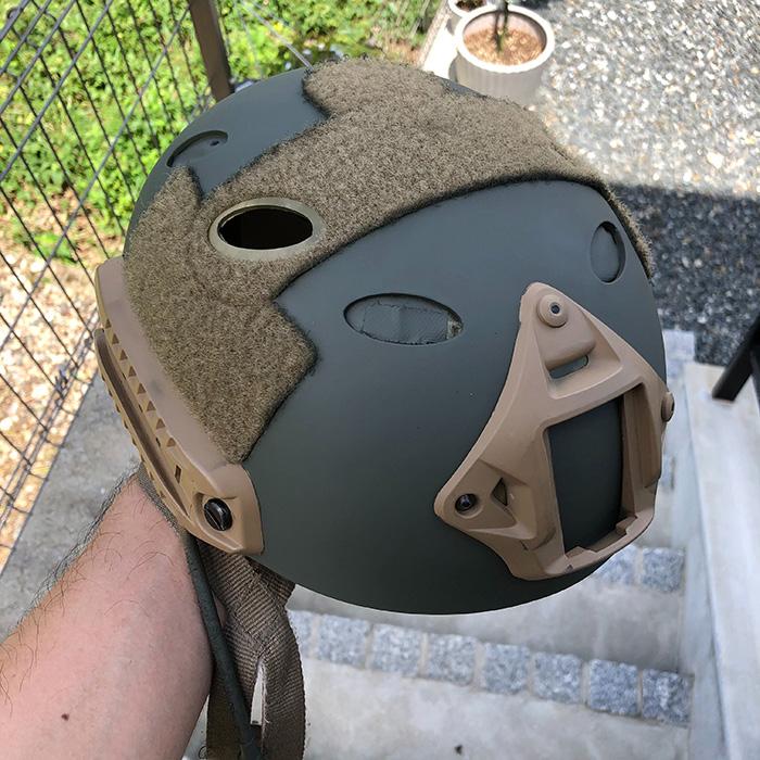 PJヘルメット塗装